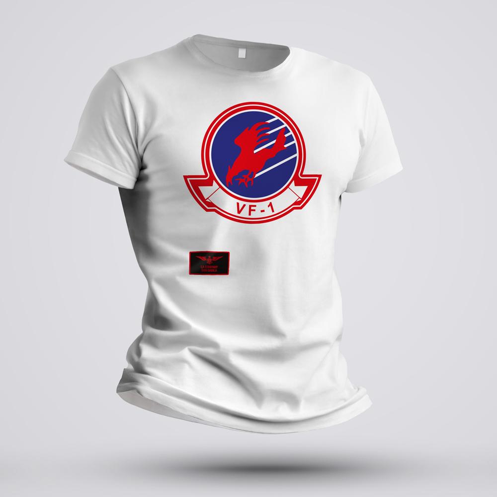 maglietta VF-1 bianca