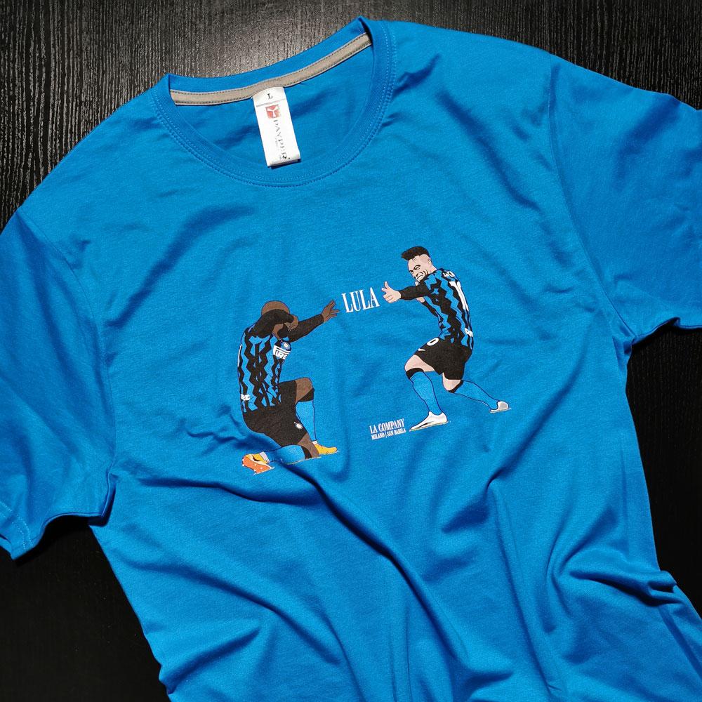 Maglietta LULA - Lukaku e Lautaro